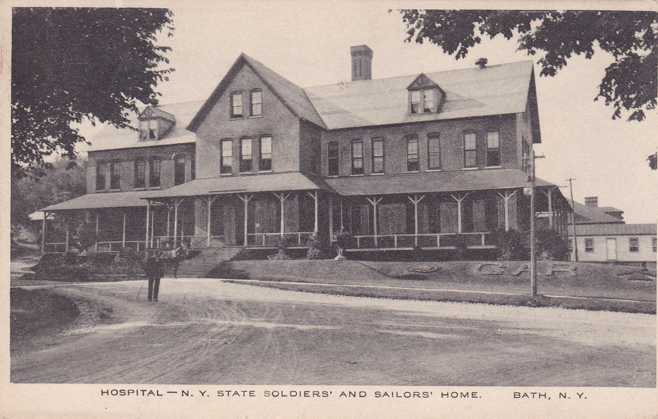 New York State Soldiers and Sailors Home, Bath, New York.
