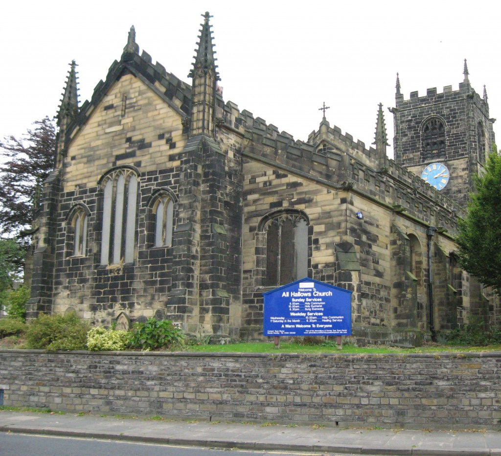 All Hallow Church, Almondbury, Yorkshire, England