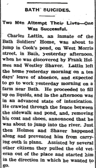 July 8, 1901 Hornellsville Evening Tribune.